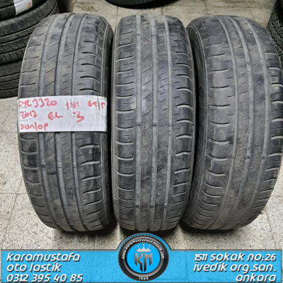 185 65 R 15 DUNLOP SP TOURING R1 92T * 2017 * 3 ADET * CYL3320