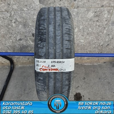 175 65 R 14 CONTINENTAL CPC5 82T * 2015 * 1 ADET * CYL3528
