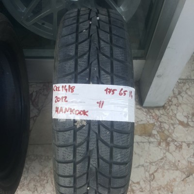 175 65 R 14 HANKOOK WINTER ICEPT R5 82T * 2012 * 1 ADET * CKL1418