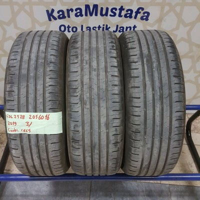 205 60 R 16 CONTINENTAL CEC5 92H * 2019 * 3 ADET * CYL2528 **