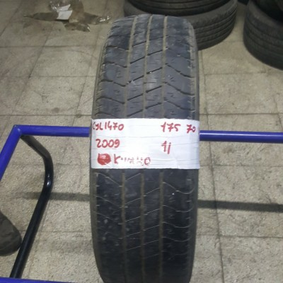 175 70 R 13 KUMHO STEEL BELTED 82T * 2009 * 1 ADET * CYL1470 **